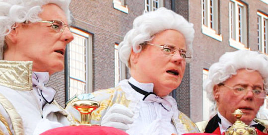 Bitterbal act, culinair entertainment van Mr.Image Theatre